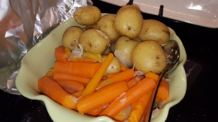 Potatoes and Carrots